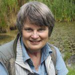 Heather Angel, wildlife photographer, in the field