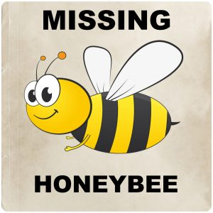 Missing honeybee poster