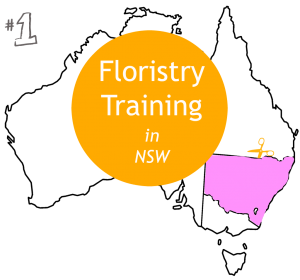 Floristry training NSW map